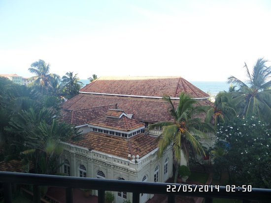 Taj Samudra Colombo : View from balcony