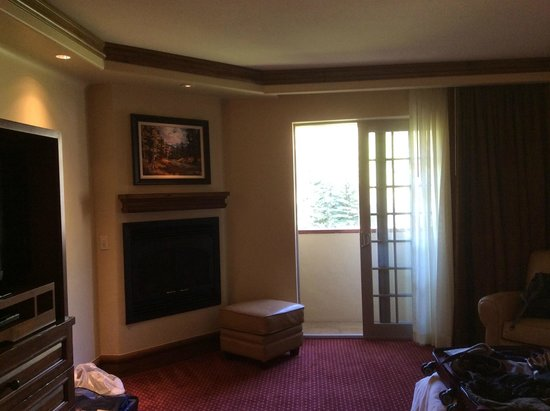 Tivoli Lodge : Roomy suite with lots of amenities
