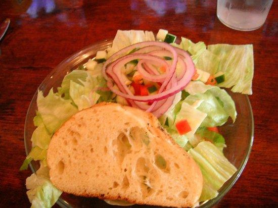Mr. B's Rustic Tavern : salad