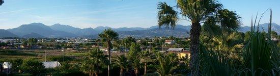 Hotel Olimpico: Panorama de la terrasse Nord-Est