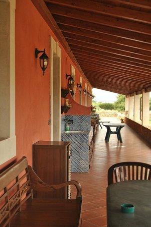 Agriturismo Sant'Elia: accessi alle camere