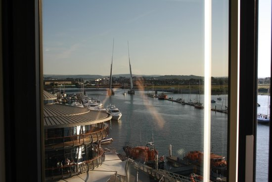 RNLI College: window view