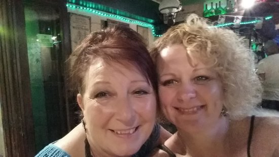 The Little Tavern : Deb and me