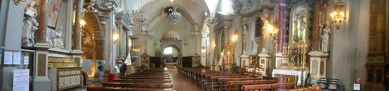 Santa Maria Maggiore: panoramica interno