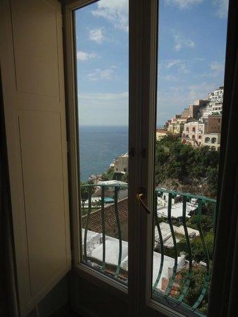 Hotel Savoia: Varandinha! Pequena mas com uma vista poderosa! (quarto 401)