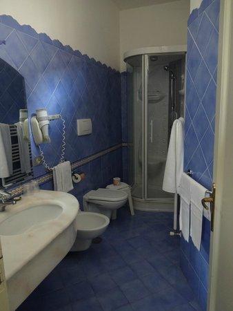 Hotel Savoia: Banheiro excelente! (quarto 401)