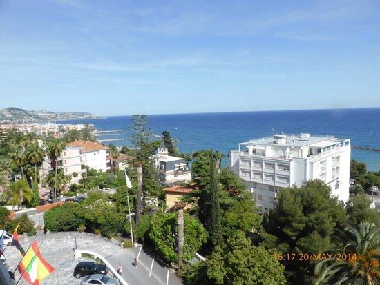 Grand Hotel Des Anglais: vista desde nuestra ventana