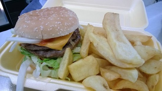 Fish-a-Licious: £2.00 Meal Deal Double Cheese Burger and chips