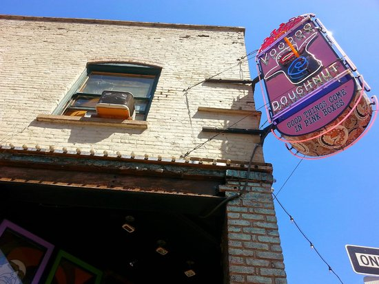 Voodoo Doughnut: The Original VDD (altho not in its original state; it has been renovated over the years)