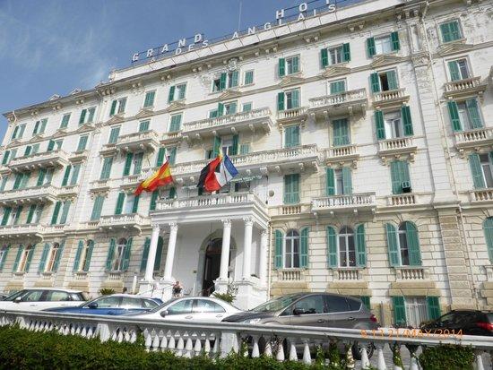 Grand Hotel Des Anglais : fachada del hotel