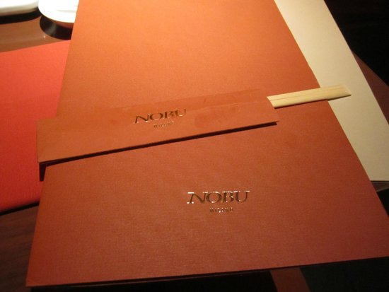 menu - Picture of Nobu Milano, Milan - TripAdvisor