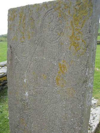 Brough of Birsay Viking settlement runes