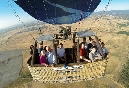 Napa Valley Balloons, Inc. : ballooning with Kim
