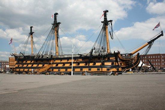 Portsmouth Historic Dockyard: victory