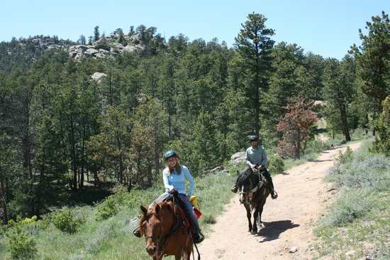 Sundance Trail Guest & Dude Ranch : Exploring the Wilderness