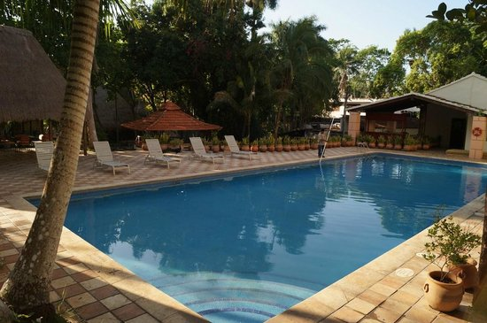 Hotel & Bungalows Mayaland: Pool area