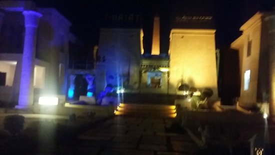 El Hayat Sharm Resort: front entrance of hotel
