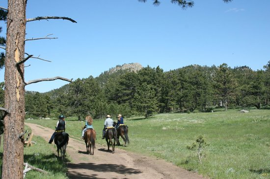 Sundance Trail Guest & Dude Ranch : Wide open Spaces
