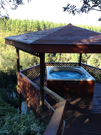 The Fernery Lodge & Chalets: Jacuzzi