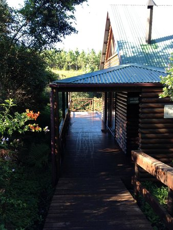 The Fernery Lodge & Chalets: View to room