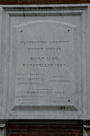 Pilgrim Memorial State Park: Court Plaque