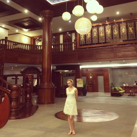 Borei Angkor Resort & Spa: Главный холл