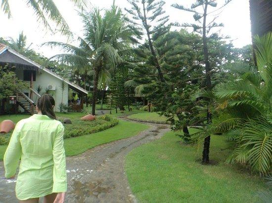 Hotel Armação: jardim