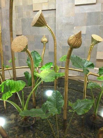 Borei Angkor Resort & Spa : Импровизированные цветки лотоса
