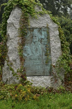 Pilgrim Memorial State Park : Teacher-Soldier-Patriot, Alexander Scammell Plaque