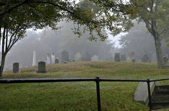 Pilgrim Memorial State Park : Burial Hill