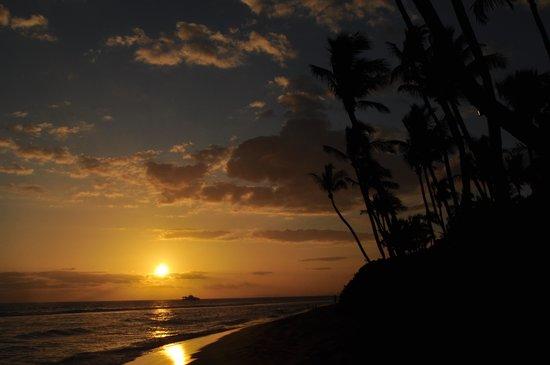 Hyatt Regency Maui Resort and Spa: Sunset from the beach