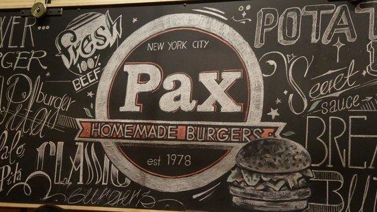 Pax Homemade Burgers