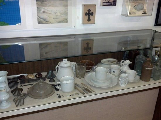 "North Carolina Maritime Museum at Southport : Artifacts from the ""City of Houston"" wreck"