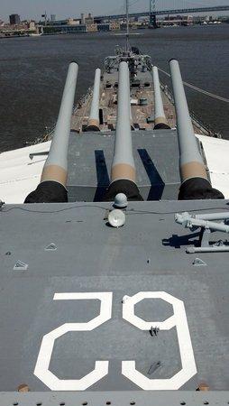 Battleship New Jersey : USS New Jersey