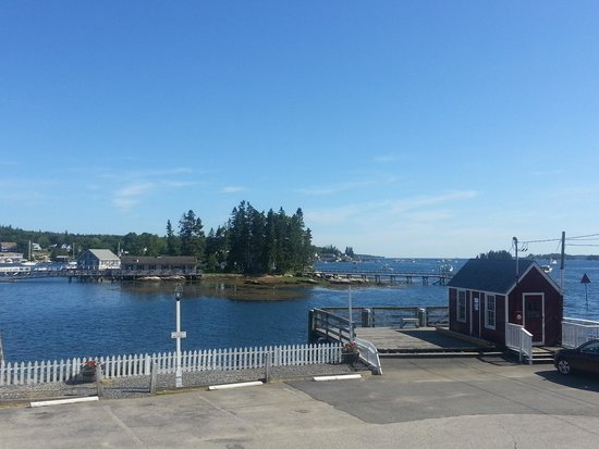 Tugboat Inn: view from porch of 501