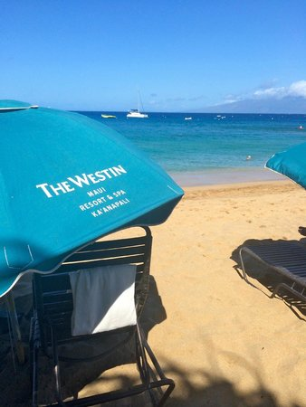 Westin Maui Resort And Spa: The beautiful beach at the Westin