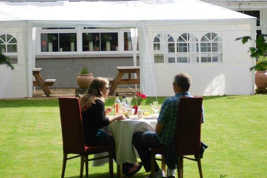 Columba House Hotel : Newlyweds Breakfast