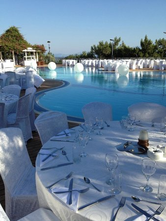 Club Med Bodrum Palmiye : La soirée blanche