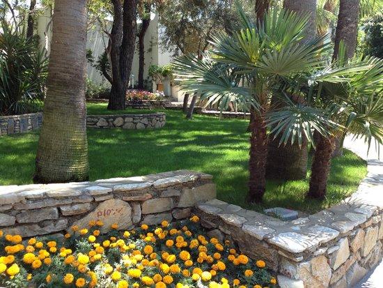 Club Med Bodrum Palmiye: Les jardins