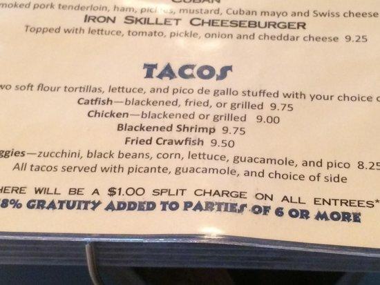 Soul Fish Cafe: Had fish tacos really good