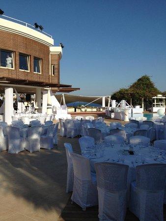 Club Med Bodrum Palmiye: La soirée blanche