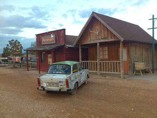 Bryce View Lodge: Der einsame Trabbi...
