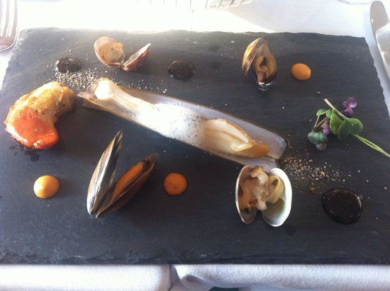 Wilde's at The Lodge at Ashford: Razor clam