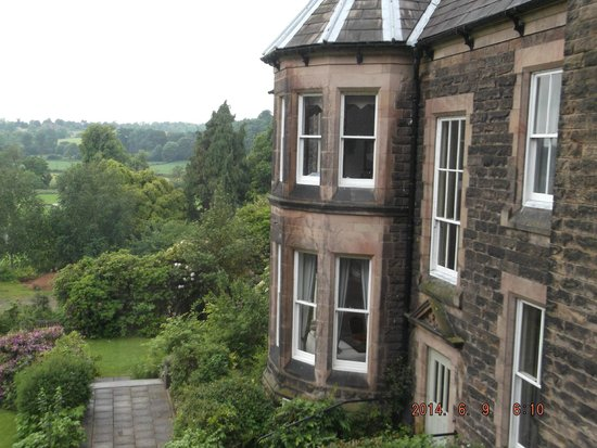 Makeney Hall Hotel: View from room 20