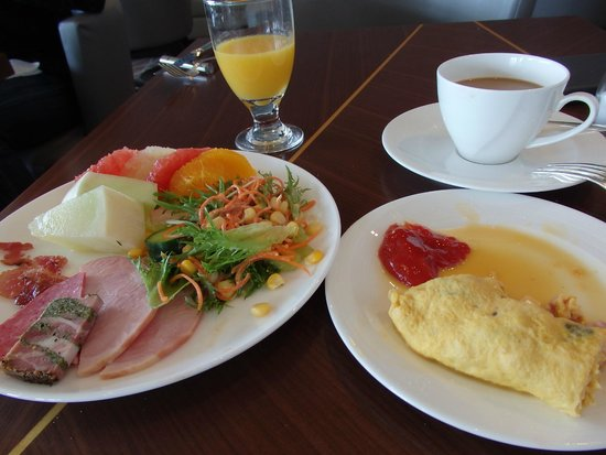 Nagoya Marriott Associa Hotel : They serve a nice variety of both Western and Japanese foods for breakfast