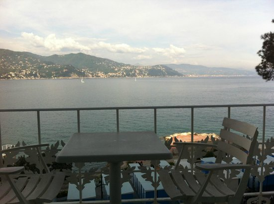 Grand Hotel Miramare: Heavenly View from My Room's Balcony