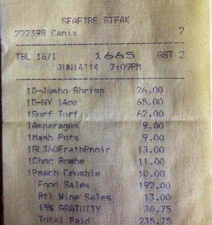 Seafire Steakhouse Paradise Island Restaurant Reviews Phone Number Photos Tripadvisor