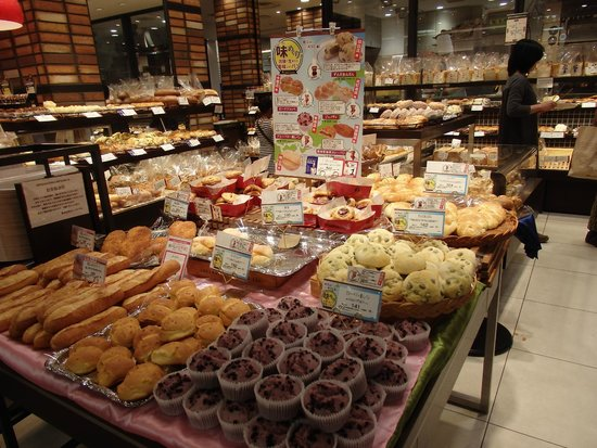 Nagoya Marriott Associa Hotel : There are entire food stores in the Basement level of the Takashimaya Department Store next door