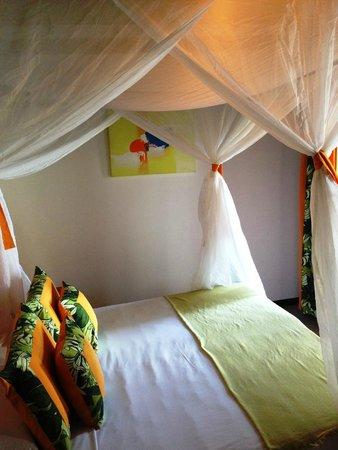 Mar Paraiso Resort: Dormitório da casa 4