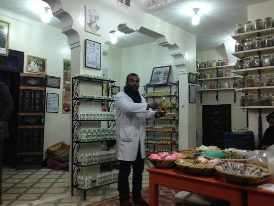 Medina von Marrakesch: Health Store